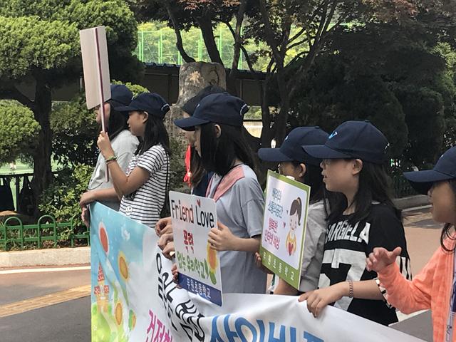[일반] 2017학년도 Wee클래스 또래중조단 학교폭력예방캠페인의 첨부이미지 3