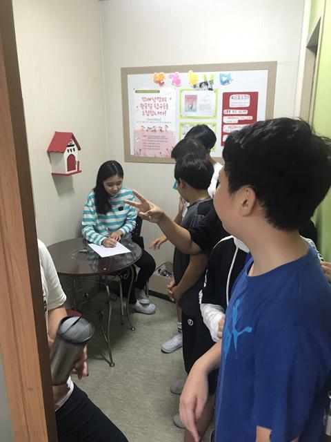 [일반] 2018학년도 또래상담부 및 또래중조단 홍보활동의 첨부이미지 2