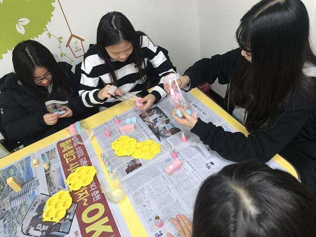 [일반] 2018학년도 Wee클래스 또래상담부 고맙데이 만들기 활동의 첨부이미지 4