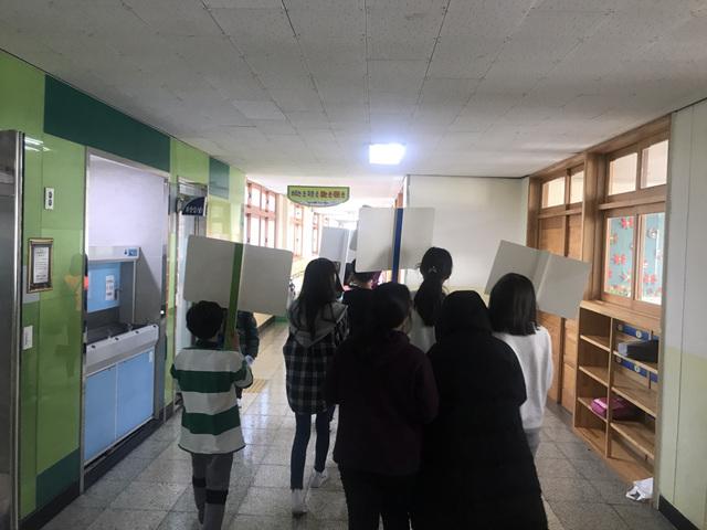 [일반] 2018학년도 또래상담부 학교폭력예방캠페인의 첨부이미지 5