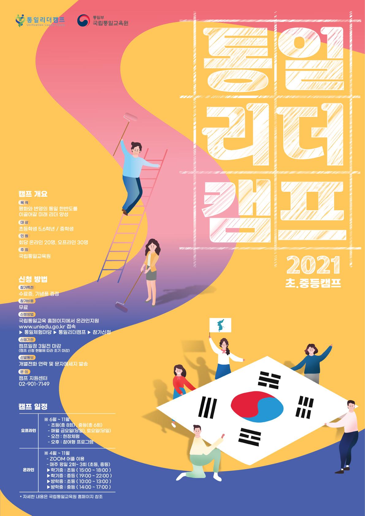 [일반] 2021학년도 국립통일교육원 통일리더 캠프 참가모집 안내의 첨부이미지 2