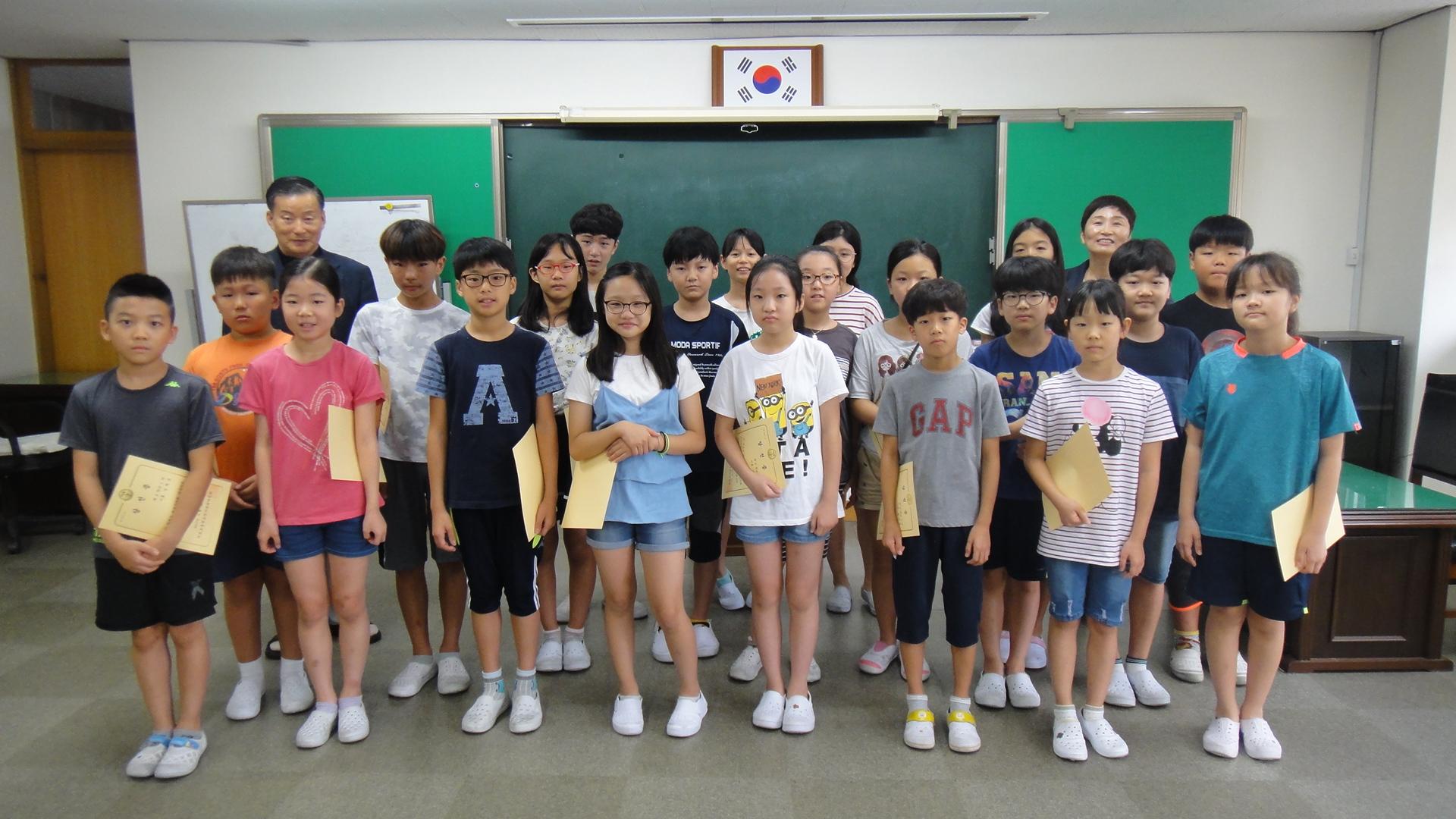 [일반] 2학기 학생자치회 당선증 수여식의 첨부이미지 4