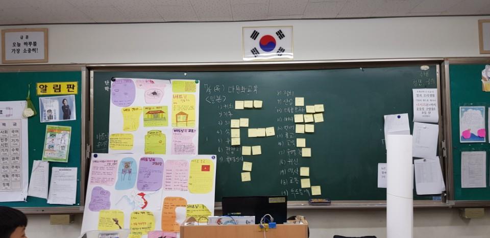 [활동 갤러리] 다문화 교육 활동 내용의 첨부이미지 1
